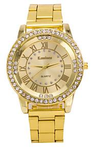 herenmode bekijk de nieuwste trend van diamant en goud staal quartz horloge bedrijf