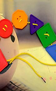 buttonl shanped sömnad byggstenar byggsats DIY leksaker