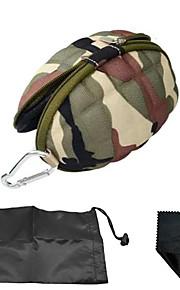 Mini Storage Bag/Portable Anti-Shock Case Bag For Gopro Hero Camera/Xiaoyi Camera-Camouflage Green