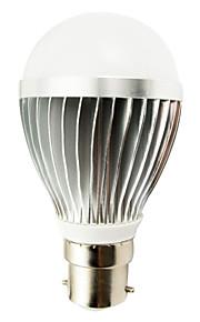 1 stk. B22 9W 14 SMD 5730 800 lm Varm hvit T LED-globepærer AC 100-240 V