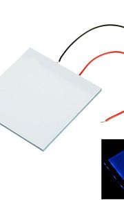 5*5*0.2cm DIY Blue Light LED Backlight Light Guide Panel LGP for Arduino Raspberry Pi - White+blue