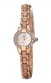 New Arrive Luxury Rhinestone Bracelet Women Watch Ladies gold case small Quartz Watch Women Wristwatch waterproof WH0026 Cool Watches Unique Watches