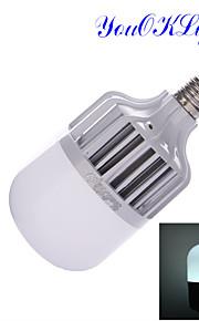 1 stk. YouOKLight E26/E27 18W 36 SMD 5630 1600 LM Kjølig hvit B Dekorativ LED-globepærer AC 220-240 V
