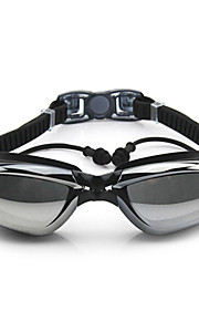 FEIUPE Swimming Goggles Women's / Men's / Unisex Anti-Fog / Waterproof / Adjustable Size / Anti-UV Silica Gel PCWhite / Gray / Black /