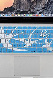 "xskn computer portatile della copertura del silicone del silicone della tastiera della pelle per 13 ""15"" macbook 17 "", MacBook Pro,"