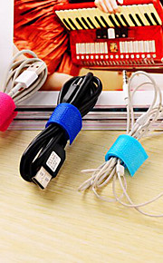 Travel Cable TieForTravel Storage Plastic 6*6*1cm