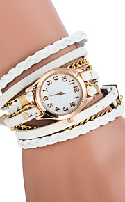 Ladies' Bracelet Watch The New Ms. Retro Fashion Female Form Bracelet Watch Chains Three Times (Assorted Colors)