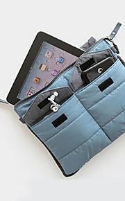Resor Pass- och ID-hållare / Uppblåst matta Packpåsar Fabric Grå / Gul / Grey Gradient / Brun
