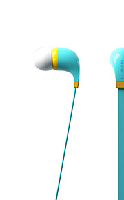 iriver bwc-50m auscultadores 3,5 milímetros na música estéreo ouvido para iphone 6 / iphone 6 plus com mic (cores sortidas)