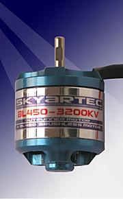motor brushless outrunner bl450-3200kv Skyartec (bl005)