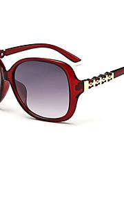 Solbriller kvinder's Mode Øjenbrunslinje Hvid / Brun / Rød / Blåt Solbriller Full-Rim