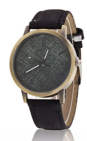 Unisex Wrist watch The New Trend In Europe And America Imitation Jeans Canvas Patterns Quartz Watch(Assorted Colors)