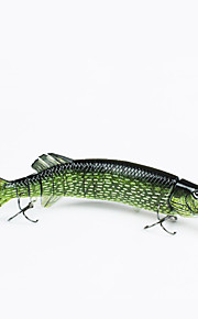 "MMLong 12"" Fishing Tip Lure Lifelike Bait 3/0# Hook Vivid Performance Lures  Crankbait  Swimbait #MML15B-M"