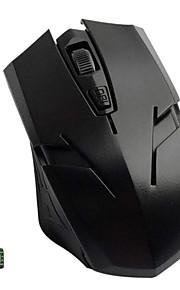 diseño especial de 2,4 GHz inalámbrico de ratón conector de juegos