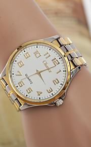 dos homens a Europa e os Estados Unidos hot moda branco com relógio de quartzo (cores sortidas)