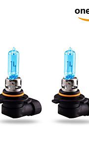 2 stk GMY 65W 1860 ± 12% lm 3800k halogen bil lys HB3 9005 12v blå