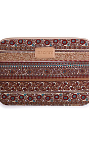 11.6,12,13.3 Inch Apricot Color Bohemian Computer Bag Notebook Sleeve Case For iPad/MacBook/Dell/HP/Surface,Etc