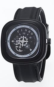 Masculino Relógio de Pulso Quartz / Aço Inoxidável Banda Casual Preta marca