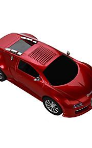 ブガッティ車モデル車のBluetoothスピーカーポータブルスピーカーBluetoothカーハンズフリーラジオスピーカーDS-370bt
