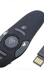 LS1793  2.4GHz USB Wireless Presenter with Red Laser Pointers Pen RF Remote Control PowerPoint PPT Presentation Mouse