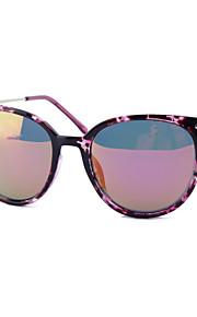 Solbriller kvinder's Elegant / Moderne / Mode Katøje Sort / Rød / Lilla / Blåt / Leopard Solbriller Full-Rim