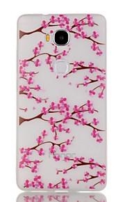 estuche blando de TPU blossompattern luminosa noche ciruelo 5x para Huawei de honor