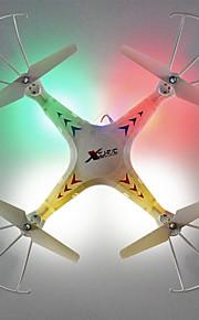 Others X300-1 zangão 6 eixo 4ch 2.4G RC Quadrotor Retorno com 1 Botão / Modo Espelho Inteligente / Vôo Invertido 360°