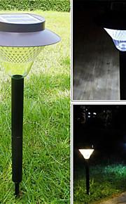 HHR @ utendørs solenergi 16 lysdioder hage yard sti grønn kraft landskapet lampe