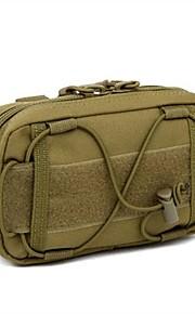 Military Style Outdoor Sports Shoulder Bag-Handbag For 6 Inch Mobile Phone