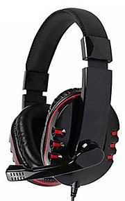 Kanen Km-790 Stereo Headphone Headset with Mic Microphone for Pc Gamers
