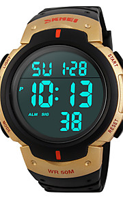 Big Dial Fashion Watch Waterproof Outdoor Sports Multifunction Electronic Watch Male Students