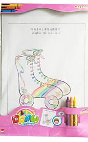 kreativ DIY legetøj kreativ graffiti (pige) 1