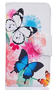 to sommerfugle mønster kort telefon dækning for lg K7 / k10