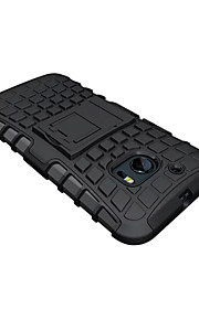 diseño especial de plástico de la contraportada de los casos de cuerpo completo del teléfono móvil para HTC uno color clasificado m10