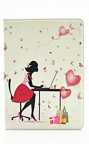 Personality Painted PU Leather Set Auger Flip Shell Holster for iPad Air3 /iPad Pro Mini
