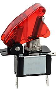 jtron rød / blå LED-opplyste bil veksle på / av-bryteren (12v / 20a)