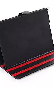 nyaste korea stil för Apple iPad luftläderfodral av hög kvalitet hopfällbar läktare PU läder flip tablett täcka