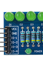 4P LED Diode PWM Dimming Module Green Light - Blue Suitable for Arduino Scientific Research