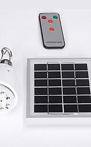 dimbare fjernkontroll solenergi lampe innendørs 12 leds utendørs hagen banen verftet lampe bærbar camping krise lanterne