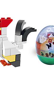 dr wan, le byggesten mini dyr æg emballage puslespil forsamling byggesten legetøj hanen