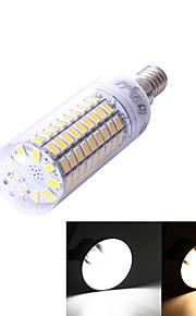 1 stk. YouOKLight E14 5W 99 SMD 5730 350 lm Varm hvit / Kjølig hvit T Dekorativ LED-kornpærer AC 220-240 / AC 110-130 V