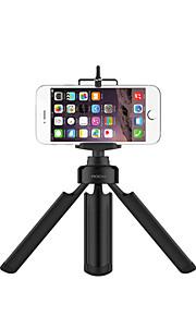 """rocke universel aluminiumslegering mini portabletripod med ¼ """"skrue til kamera GoPro iphone android smartphones"""
