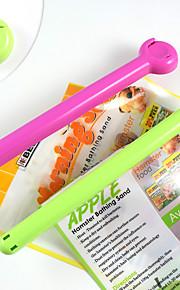 고품질 플라스틱 애완 동물 식품 가방 클램프 개 음식 밀봉 스트립 환경 보건 애완 동물 제품 밀봉 길게