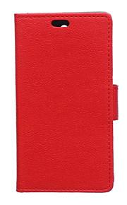 노키아 950의 경우 패션 카스 그레인 패턴 질감 케이스 카드 슬롯 플립 커버 지갑 스타일 (모듬 색상)