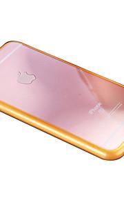 cadre tpu cas pc fond de panier combo de téléphone pour iphone 6 / 6s / 6 plus / 6s, plus