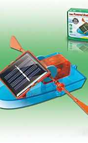 Azul / Laranja Gadgets Solar Powered / Toy DIY para Boy ABS