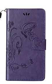 sommerfugl mønster præget pu læder telefon taske materiale til Huawei y625 / Y550 / P9 / P9 lite / P8 lite / g8