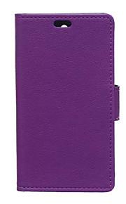 couvercle rabattable style portefeuille avec fente pour carte Huawei Ascend y5 / y560 cas mode grain cass pattern texture cas