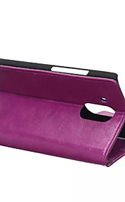 couvercle rabattable style portefeuille avec fente pour carte cas huawei compagnon 8 cas mode crazy horse texture (couleurs assorties)