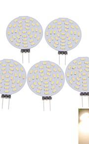 5 stk. SENCART G4 4W 36 SMD 3014 400-480 lm Varm hvit / Kjølig hvit MR11 Dekorativ LED-spotpærer DC 12 / AC 12 V